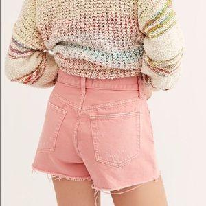 NWT FP High Waisted Sofia Shorts